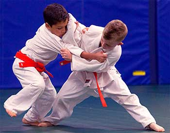 Kid Judo Class - Short Story About Strength And Weakness