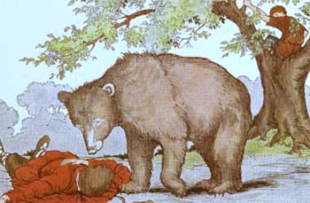 Two Friends And Bear Story - False Friends Moral Stories