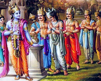 Human Nature in Kaliyuga - Krishna and Padavas Story in English Share