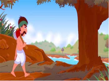 Woodcutter and Beggar Story - Different Perspective Towards Life Solution