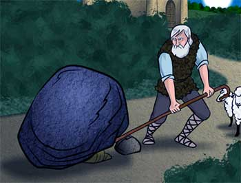 The Rock in the Road Story - Moral Stories of Kids in English