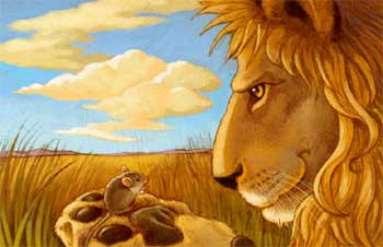 Tales of Panchtantra - The Lion and The Mouse Short Story