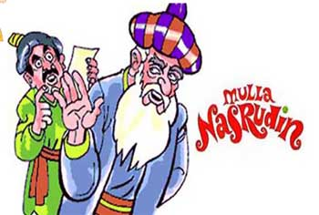 Mulla Nasrudin Stories For Kids - Being Nobody Funny Witty Reply Story