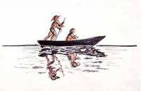 The Boatman and The Scholar Short Story - Waste of Time Interesting Short Story