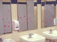 Interesting School Story - Solution for Lipstick Marks on Restroom Mirror