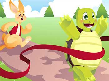 Kids Moral Stories - Hare and Tortoise Story