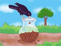 Short Stories for Kids - Thirsty Crow Moral Story