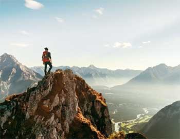 Trust Gods Plan Story - Mountain Climber and God Conversation Story