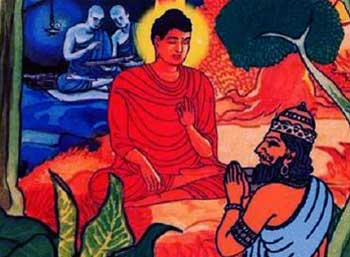 Buddha and King Story - Be Yourself Self Awareness Buddha Short Story