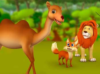 Clever Camel and Fox Story - Fox Trickery Story with Advice for Kids