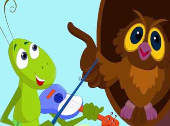 Owl and Grasshopper Story - Moral Short Stories for Kids