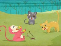 Two Cats and Monkey Story - Famous Moral Story for Kids
