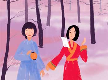Fire or Wind Wrapped in Paper - Tricky Gifts Story Japanese Folktales