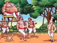 Raman's Challenge to Wrestler - Witty and Funny Short Folktales from Ancient India