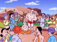 Tenali Raman Challenge to Weight Lifter - Witty and Clever Thinking
