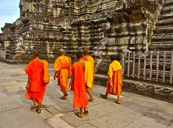 Five Monks Journey - Distractions and Destination