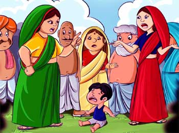 Who is Real Mother - Mother's Love for her Child Jataka Tales
